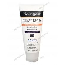 Kem chống nắng Neutrogena Clear Face SPF 55 - 1762